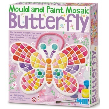 4M 4M Mozaik Kelebek Renkli